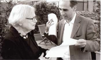 Bruno Berni e Inger Christensen.