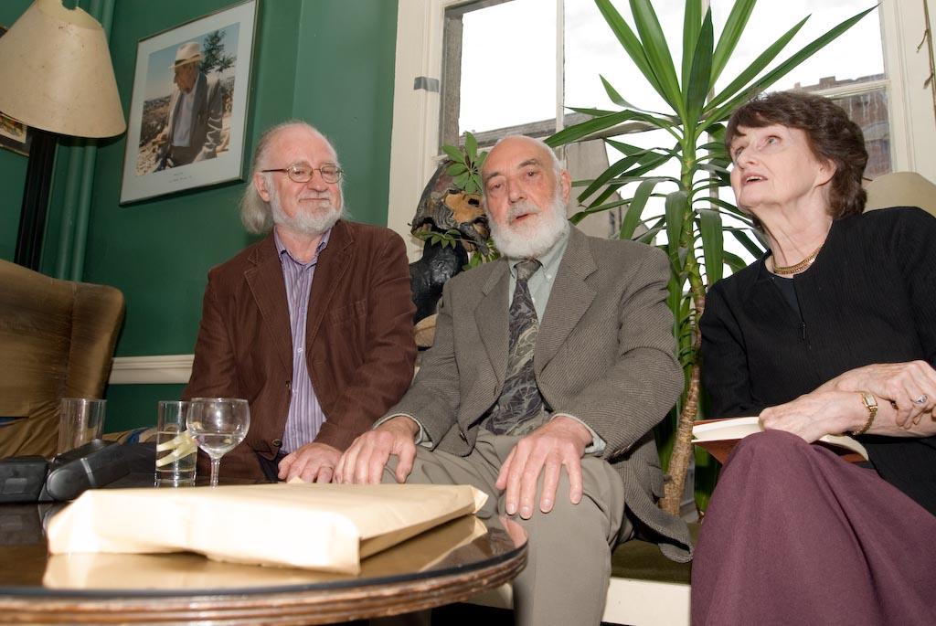 John Deane, Thomas Kinsella, Eavan Boland © Foto John F. Deane